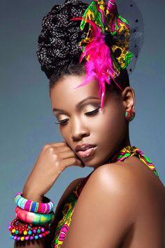 Makeup for black skin by me - Joy Adenuga