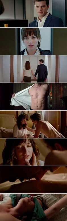 """You have to check out the new """"Fifty Shades of Grey"""" trailer"""