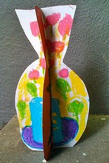 Matisse inspired slotted sculpture