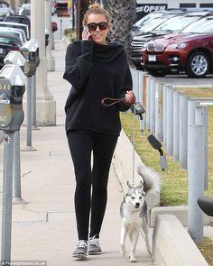 doggy walking chic