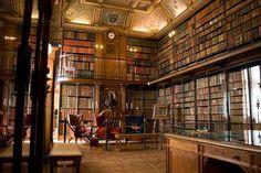 Professor Henry Higgins' library.