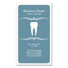 mod dental business cards. I love this design! It is available for customization or ready to buy as is. All you need is to add your business info to this template then place the order. It will ship within 24 hours. Just click the image to make your own!