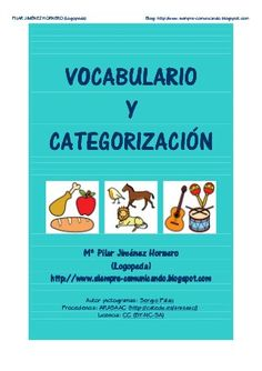 Vocabulario y Categorizacion