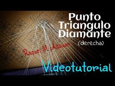 Raquel M Adsuar Bolillotuber Teneriffe, Bobbin Lacemaking, Lace Heart, Lace Jewelry, Lace Making, Tatting, Youtube, Lace Detail, How To Make