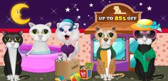 "#MobileGameSourcecode Build multiple games easily by customizing only one #Sourcecode. ""Cat Beauty Salon"" is now only $105. Don't miss it."
