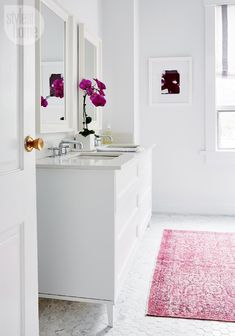 Whitening the bathroom - Revamped eclectic Victorian becomes a polished family home