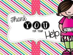 Take Home Parent Volunteer Envelope Label {FREEBIE!}