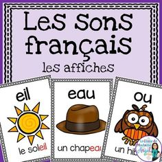 Les sons français: French Sound Posters Over 50 different French sounds represented in this beautiful poster pack! Great reference for students learning Learn French, How To Speak French, Teaching French Immersion, French Teaching Resources, Teaching Spanish, Teaching Reading, French Alphabet, French Worksheets, Core French