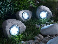 galets lumière extérieur