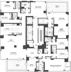 Image Result For Penthouse Floor Plan With Pool Home