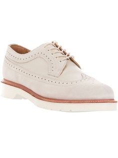 Nude suede 'Alfred' shoe from Dr.Martens.