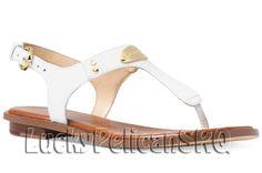 Michael Kors Leather Medium Width (B, M) Shoes for Women Michael Kors Shoes, Sandals, Leather, Plate, Medium, Fashion, Moda, Shoes Sandals, Dishes