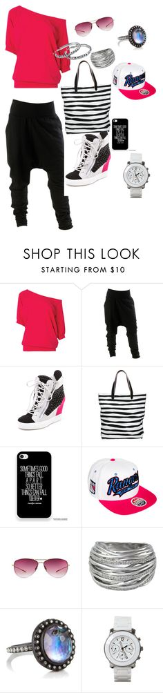"""hip hop style"" by teresagtucker ❤ liked on Polyvore featuring Giuseppe Zanotti, Zalando, Zephyr, Oliver Peoples, Effy Jewelry, Armenta, Juicy Couture and Pier 1 Imports"