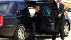 """¿Llevara Obama su auto """"La Bestia"""" a Cuba?"""
