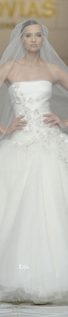 Pronovias - Spring-Summer 2015 Bridal Collection. #wedding #dresses #bridal