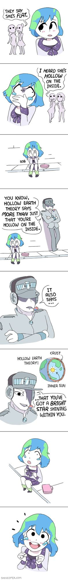 Tagged with cute, awesome, earth, not, flatearth; Earth-chan comics are the cutest thing Cute Comics, Funny Comics, Space Anime, Comics In English, Hetalia Funny, Anime Galaxy, Funny Comic Strips, Anime Furry, My Hero Academia Episodes