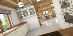 Návrh interiéru drevenice Zborov - Fotoinšpirácia Kitchen Cabinets, Home Decor, Decoration Home, Room Decor, Cabinets, Home Interior Design, Dressers, Home Decoration, Kitchen Cupboards