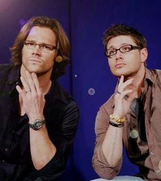 Supernatural, oh no! glasses are my weakness!