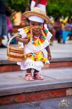 via haitian culture: such a little character so full of hope and joy!  she makes me laugh!