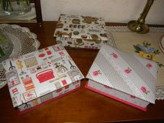 Boites à couture- Tuto Carton Marie