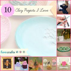 10 Polymer Clay Projects I Love (plus an awesome giveaway!)
