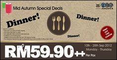 cool 10-28 September 2012: Jogoya Mid Autumn Special Deals
