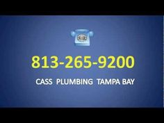 Best emergency plumber Tampa has to offer. Call now for our special discount price! 813-265-9200