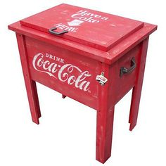 Love that I got 15% off Coca-Cola 54 Quart Vintage Wooden Cooler from Cola Cola Store for $199.99. Share a product for a 15% coupon storewide!