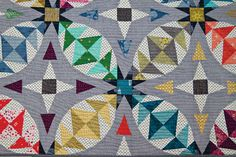 Introducing new book, Scraps Inc Vol. 2. A collection of 15 modern quilt patterns made from scraps!