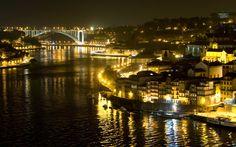 Porto, Portugal \\  Night in Porto