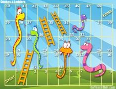 FREE Snakes and Ladders - Editable Card Game and Smartboard game - Great for Learning Phonics Stuff Learning Multiplication Facts, Learning Phonics, Literacy Activities, Board Game Template, Printable Board Games, Free Printable, Sight Word Flashcards, Sight Word Games, Rainbow Facts