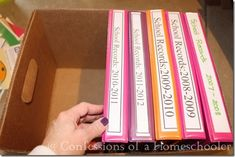 Homeschool Storage Solutions: Long Term - Confessions of a ...