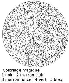 Les 46 Meilleures Images Du Tableau Coloriages Magiques Sur