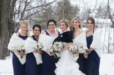 Anik and Dave's navy and white winter wedding at Strathmere has been published on WeddingLovely! Elegant Winter Wedding, Bridesmaid Dresses, Wedding Dresses, Winter White, Warm Weather, Navy And White, Blog, Photography, Fashion