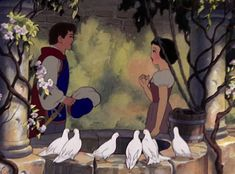We Can't Handle How Romantic These Moments Are | The Prince Serenades Snow White
