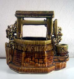 McCoy Pottery Wishing Well Planter 1950....in my collection