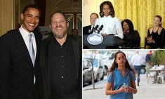 Former president Barack Obama issued a statement Tuesday about the sexual assault scandal swirling around Hollywood mogul Harvey Weinstein – five days after it first became global news. Malia Obama, Barack Obama, Jessica Biel And Justin, Obama Campaign, Movie Producers, Clinton Foundation, Barack And Michelle, Harvey Weinstein, The Daily Show