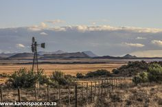 Whether you like your Karoo windmills, your Karoo windpumps or your Karoo windpompe, they all remain stately icons of the South African heartland. Landscape Photos, Landscape Photography, Art Photography, Stella Art, Old Farm Houses, Big Sky, Monument Valley, Old Things, South Africa
