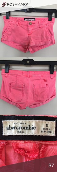 Abercrombie Kids jeans shorts. Girl's size (8). Abercrombie Kids jeans shorts. Girl's size (8). Very cute. Good condition. Abercombie Kids Bottoms Shorts