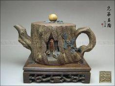 So Wonderful Yixing Zisha Pottery Old Teapot