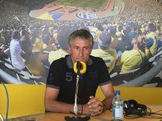 """TIEMPO DE DEPORTE: Setién: """"me enorgullece, oir a otros entrenadores ..."""