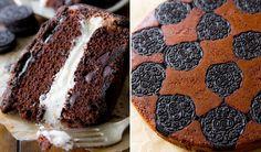 Dette er kake som får alle andre kaker til å skamme seg. Sally Quinn bak bakebloggen Sally's Baking Addiction har laget denne fantastiske Oreokaken. Den ser mer komplisert ut enn den faktisk er. Men ta deg tid til å lese gjennom hele oppskriften først, så er det bare å nyte: to lag saftig sjokoladekake, tykt Oreo-kremfyll, sjokoladeglasur og to lag med Oreo-kjeks.    Så er det bare nyte! Sjokoladebonanza!    NB: Oppskriften er oversatt fra amerikanske mål, så noen av mengdene kan virke litt…