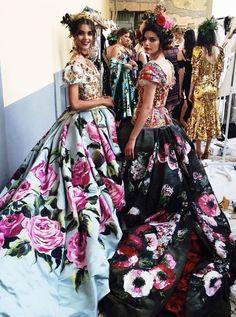 Dolce & Gabbana Alta Moda Fashion Show & More Luxury Details