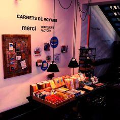 """CARNETS DE VOYAGE"" TRAVELER'S notebook at merci"