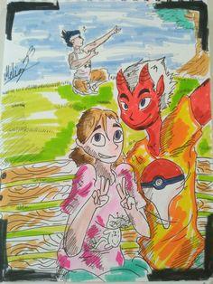 #artlife #art #arts #instalike #instaart #instadraw #ilovedrawing #markers #colors #Melizagriffinanimeart #myart #artwork #animefan #cartoon #toon