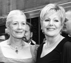 Vanessa and Lynn Redgrave - sisters & both actresses.