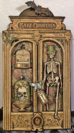 annes papercreations: Graphic 45 Rare Oddities Door Card by Anne Rostad