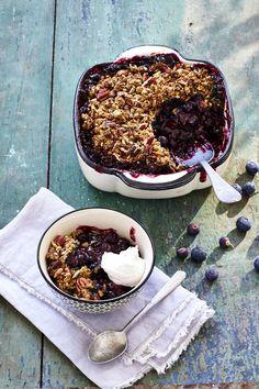 Blueberry Crumble - Rens Kroes - gemaakt ontbijt