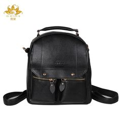 $28.00 (Buy here: https://alitems.com/g/1e8d114494ebda23ff8b16525dc3e8/?i=5&ulp=https%3A%2F%2Fwww.aliexpress.com%2Fitem%2F2016-New-Casual-Women-Backpack-Female-PU-Leather-Women-s-Backpacks-Bagpack-Bags-Sport-Travel-Bag%2F32702594748.html ) 2016 New Casual Women Backpack Campus Style Female PU Leather Women's Backpacks Bagpack Bags Travel Bag back pack Free Shipping for just $28.00