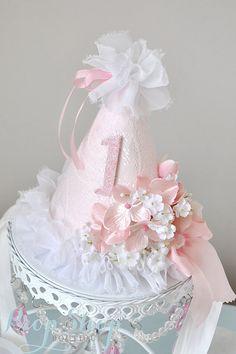 Pretty Primrose Birthday Hat Special Occasion by propshopboutique, $35.00